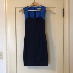 Banana Republic blue mini dress